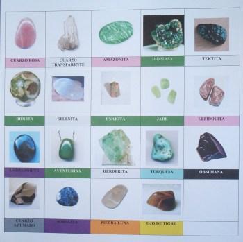 Cuadro de cristales