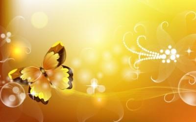 ámbar mariposa