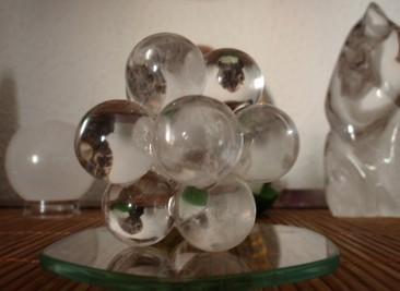 átomo de cuarzo