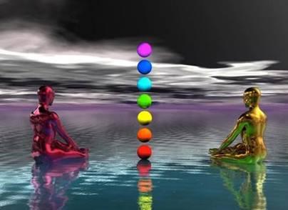 Esferas agua color